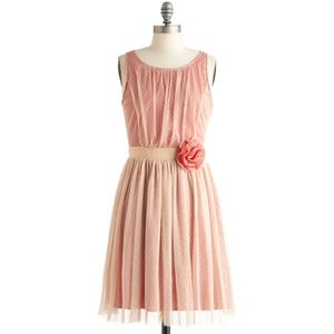 Modcloth RYU  Lace Layered Vintage Inspired Dress